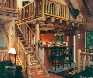 wood, home, and house image