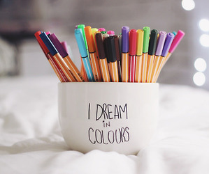 artsy, Dream, and colors image
