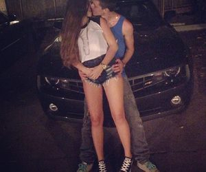 car, cute couple, and claudia tihan image