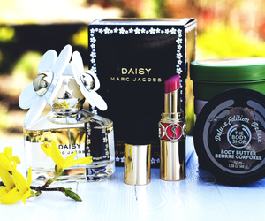 body butter, marc jacobs, and YSL image