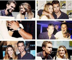 ship, shailene, and divergent image