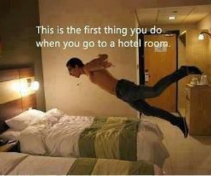 hotel, funny, and true image
