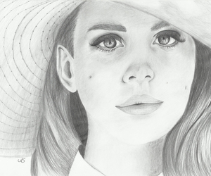 black and white, drawing, and sketch image