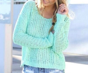 style, blonde, and cute girl image