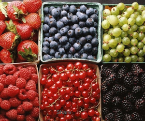 delicious, healthy, and mixed fruit image