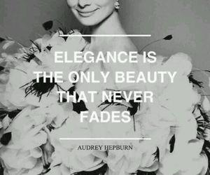 quotes, elegance, and audrey hepburn image