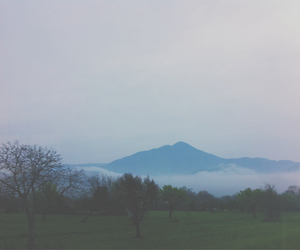 day, foggy, and paesaggio image