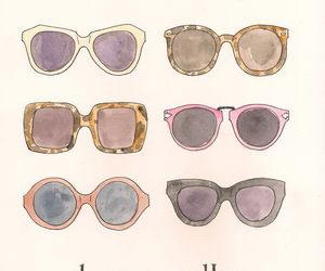 colorful, karen walker, and shades image