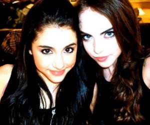 ariana grande, elizabeth gillies, and victorious image