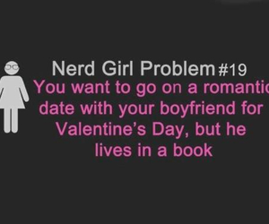 book, problem, and nerd image