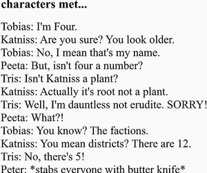 funny, peter, and katniss image