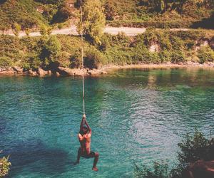 summer, boy, and fun image