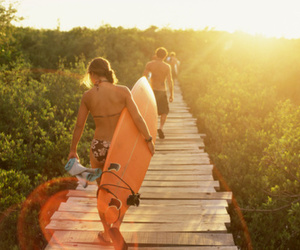 surf and summer image
