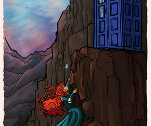 doctor who, disney, and brave image