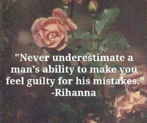 quotes, rihanna, and mistakes image