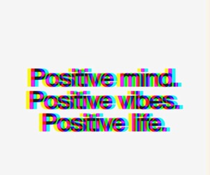 positive, life, and mind image