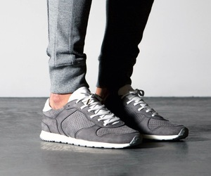 fashion, grey, and kicks image