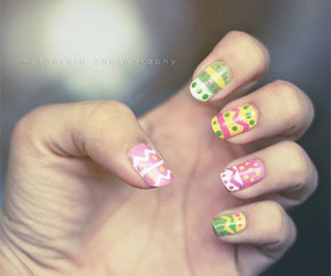 easter nail art, easter nails, and simple easter nail art. image