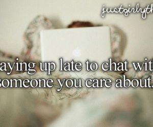 love, chat, and just girly things image