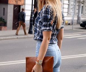 blogger, blond, and fashion image