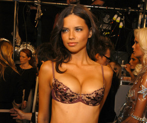 Adriana Lima, angel, and beauty image