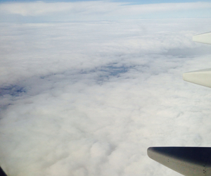 clouds, Flying, and view image