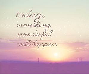 quote, wonderful, and today image