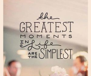 quote, life, and moment image