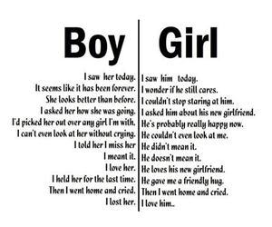 boy, love, and girl image
