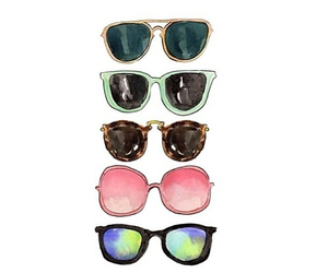 sunglasses, overlay, and transparent image