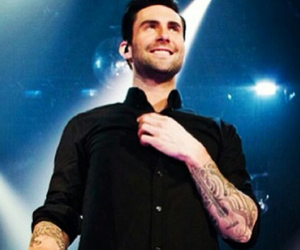 adam, Hot, and maroon5 image