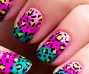 blue, cute, and leopard image