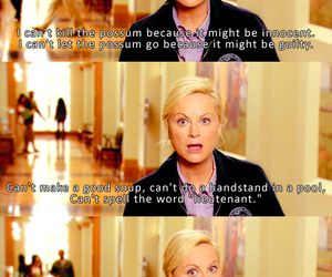 Amy Poehler, leslie, and text image