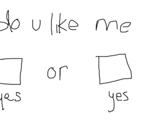 love, yes, and like image