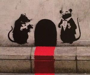 BANKSY, fancy, and graffiti image