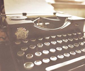 typewriter and vintage image