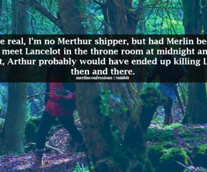 arthur, merlin, and merthur image
