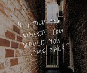 love, quotes, and come back image