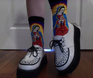 alternative, creepers, and mother mary image