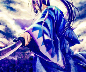 anime, samurai, and hakuouki image