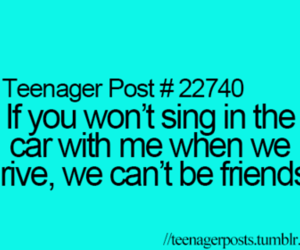 teenager post, car, and funny image