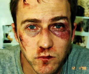 fight club, edward norton, and movie image