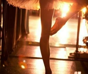 ballet, sunset, and beautiful image