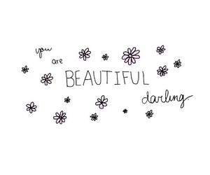 beautiful, flowers, and darling image