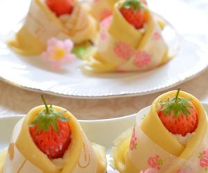 dessert, japanese, and sweets image