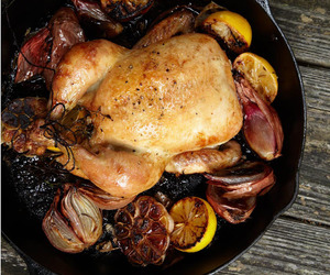 lemon, meat, and Chicken image