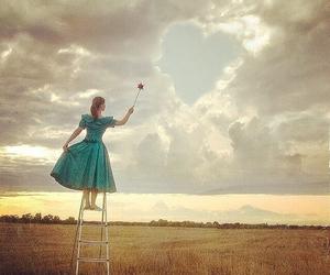 dreams, girl, and heart image