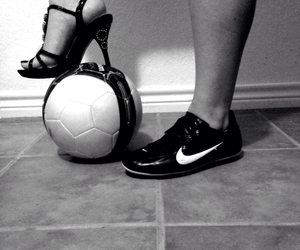 soccer and cleatsandheels image