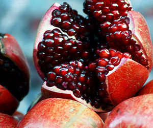 fruit, pomegranate, and delicious image