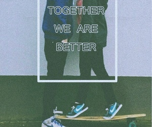 couple, together, and better image